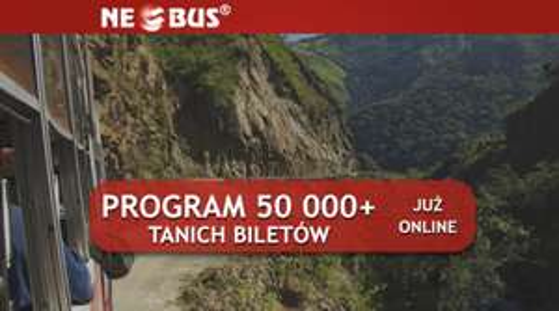 NEOBUS: 50000 biletów od 1 PLN