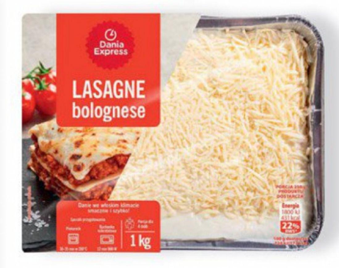 Lasagne Bolognese 1 kg /cena z kartą MB/ @Biedronka