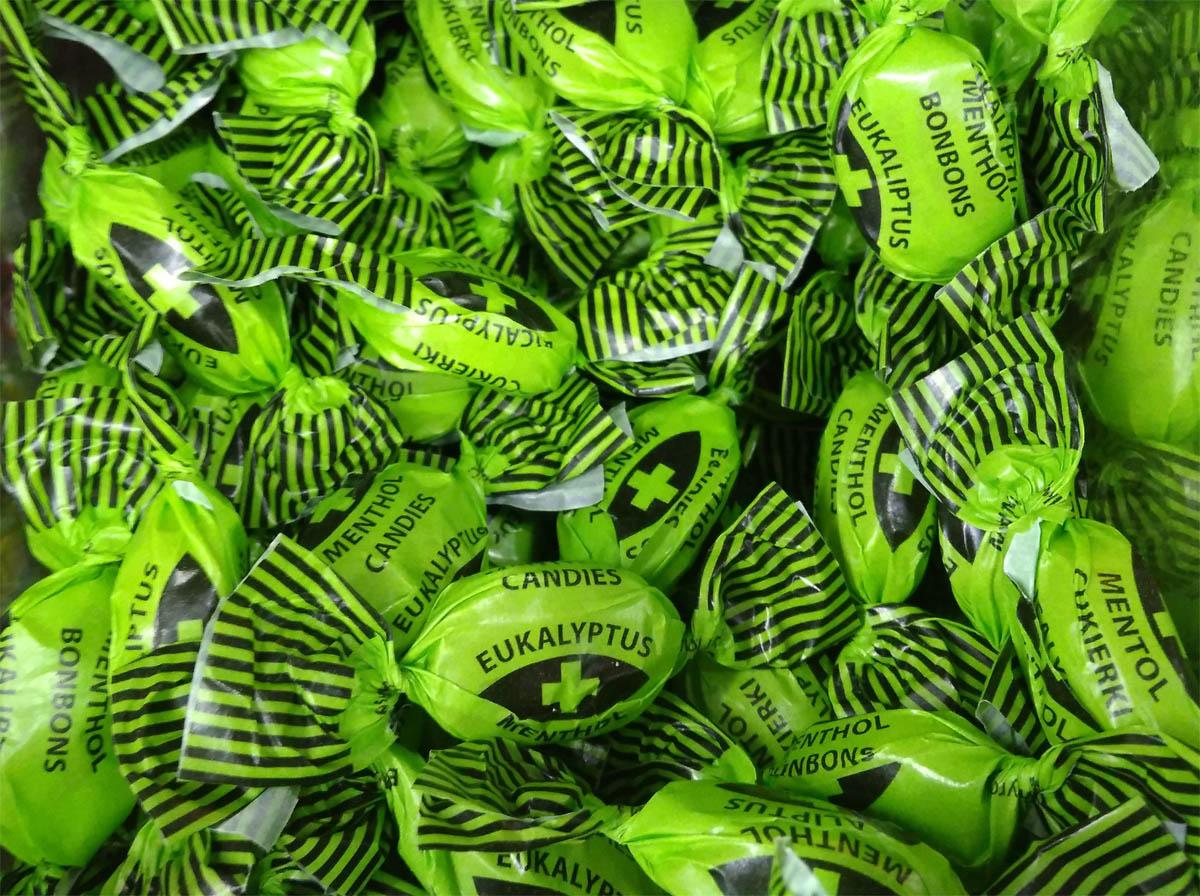 Cukierki eukaliptusowo mentolowe lidl 250 gramów