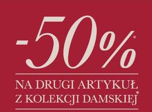 Rabat -50% na drugi artykuł z kolekcji damskiej @ Bata
