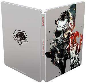 Metal Gear Solid V steel book PS4