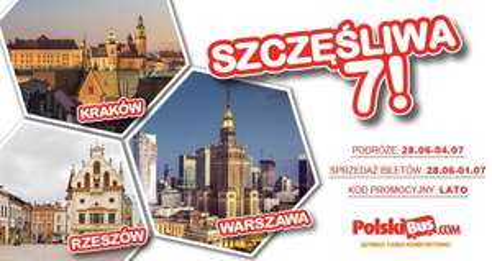Szczęśliwa 7! PolskiBus.com
