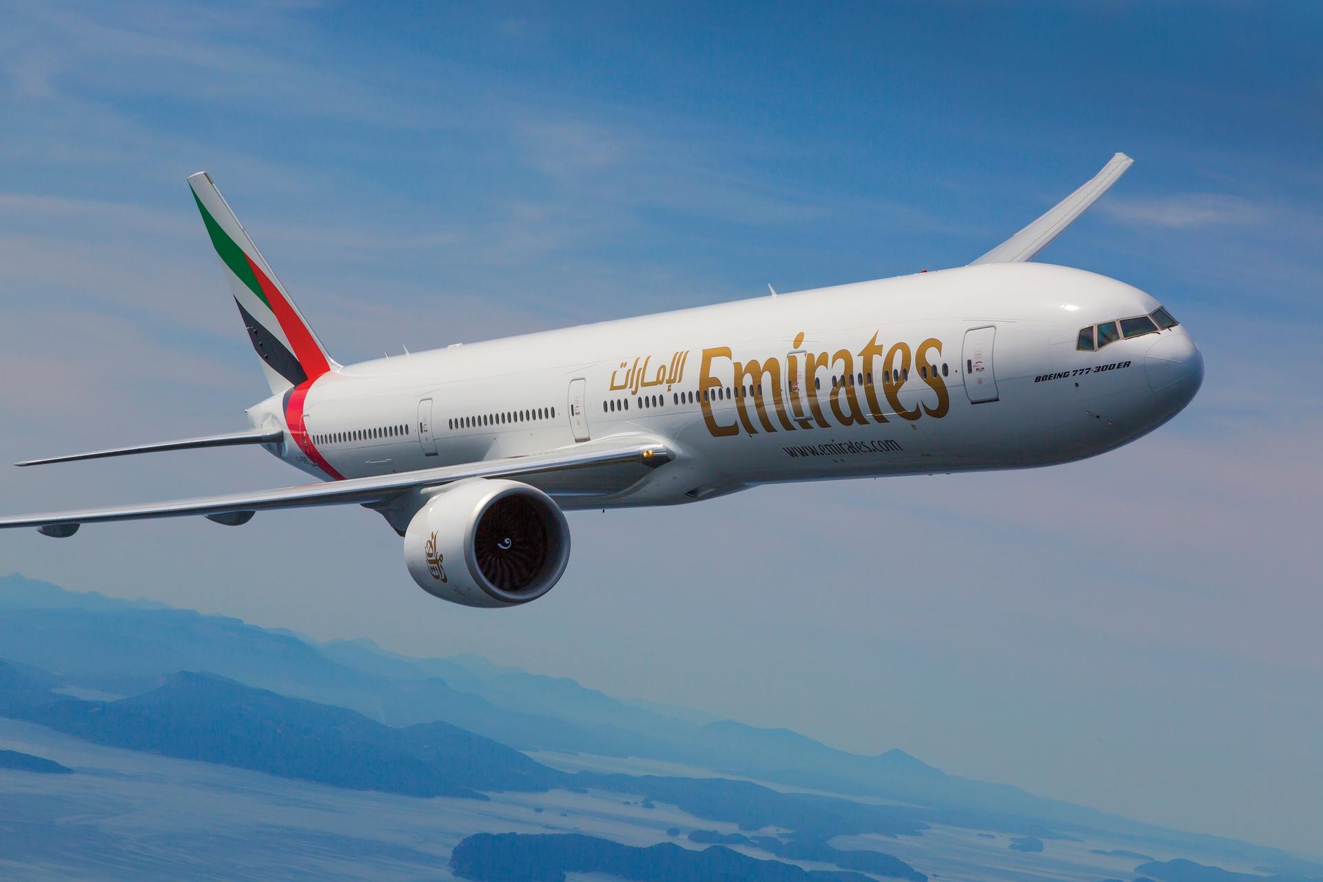 Kod -12% na bilety lotnicze linii Emirates