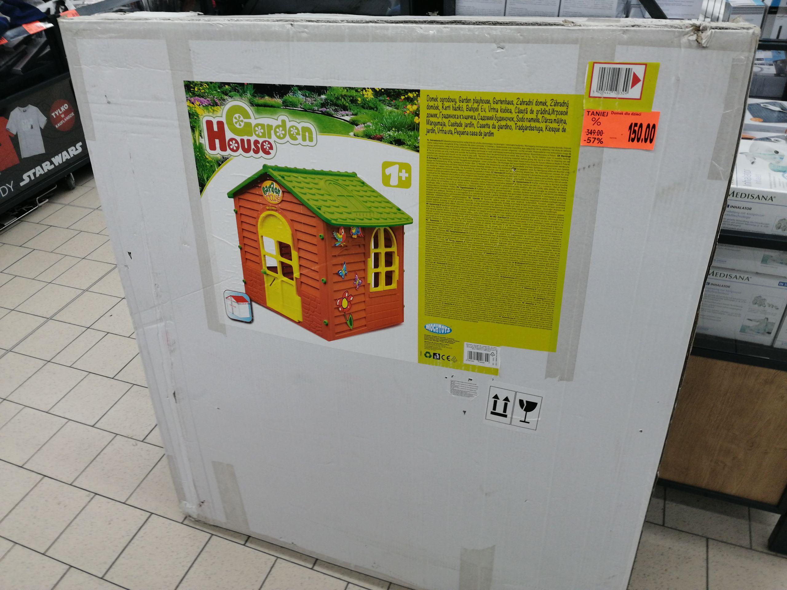 Domek dla dzieci Garden House - Kaufland