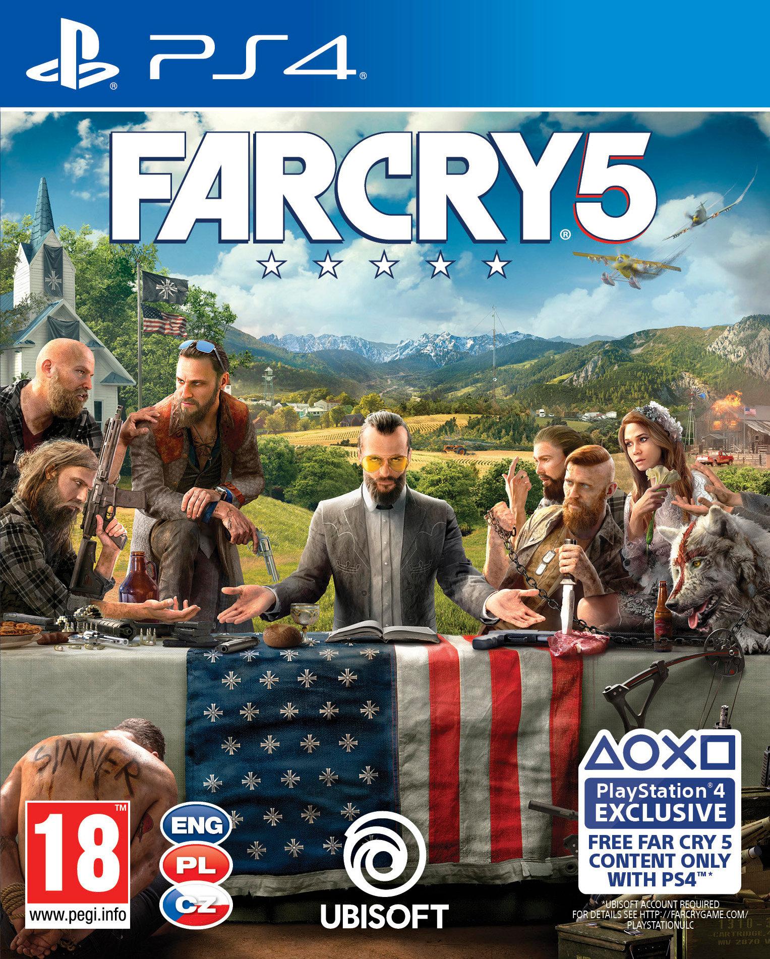 Far Cry 5 na PS4