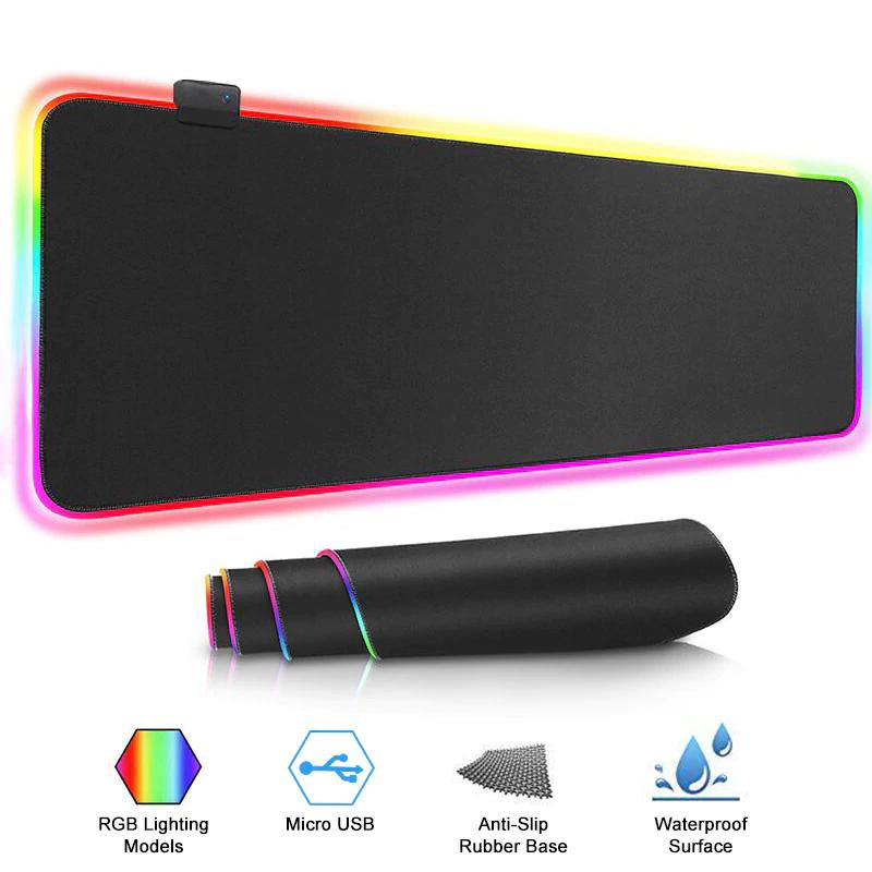 9.99$ Podkładka RGB pod mysz! (Rozmiar S, dostępne również M, L, XL)