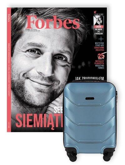 Forbes roczna prenumerata + walizka kabinowa gratis