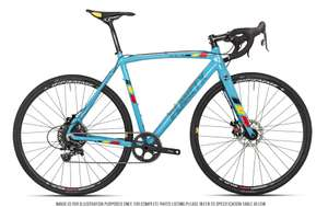 Rower Planet X XLA SRAM Apex 1 REM Norwegian Blue Edition Cyclocross Bike