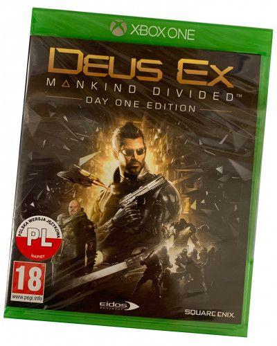 Gra Deus Ex Rozłam Ludzkości PL XBOX One