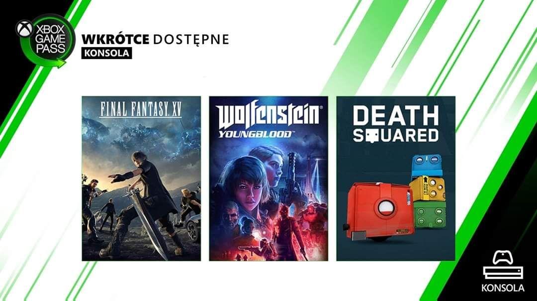 Final Fantasy XV w Xbox Game Pass od jutra. Xbox + PC