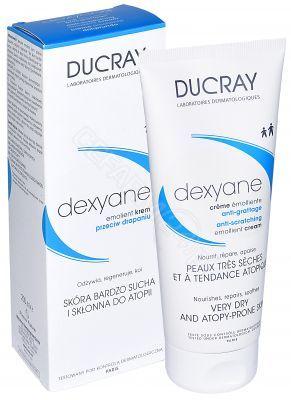 Ducray Dexyane Emolient krem przeciw drapaniu 200 ml Ducray Dexyane Emolient krem przeciw drapaniu 200 ml (KRÓTKA DATA)