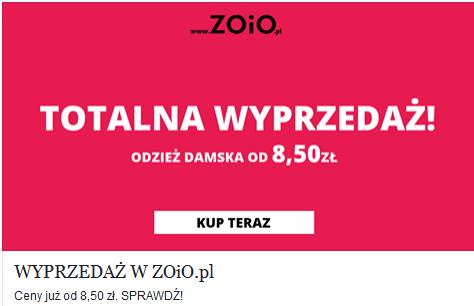 Przeceny na odzież damską (do -70%), najtańsza dostawa: 6,99 zł