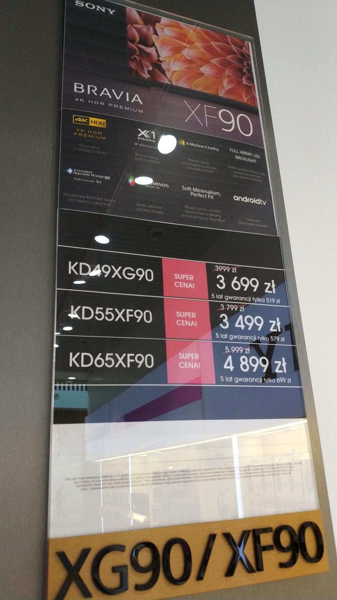 Telewizor Sony 65XF9005