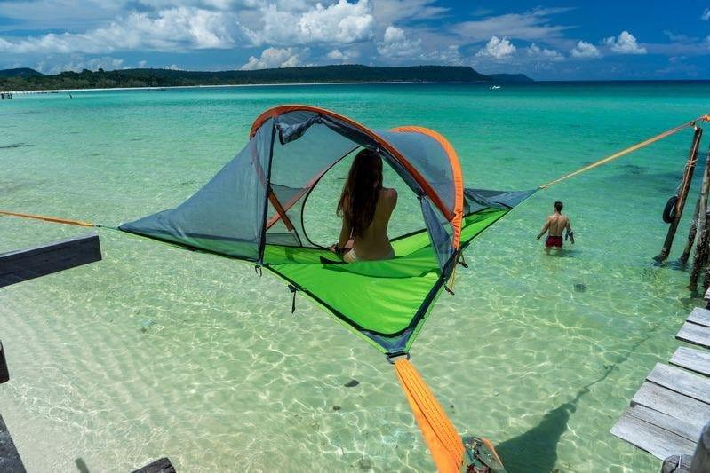 500 zł zniżki na podróżnicze namioty/hamaki