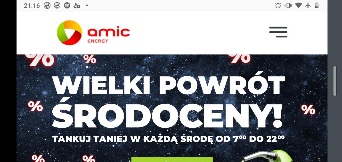 """AMIC Energy """"Wielki powrót środoceny"""""""