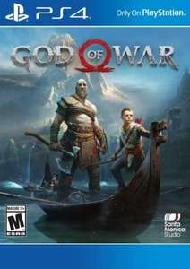 [PSN USA] God of War PS4