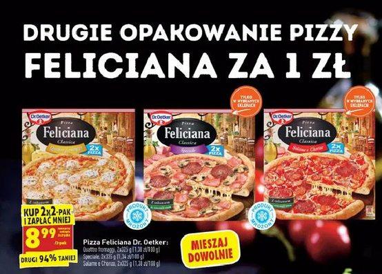 2x2-pak Pizzy Feliciana Dr. Oetker Biedronka, Pizza