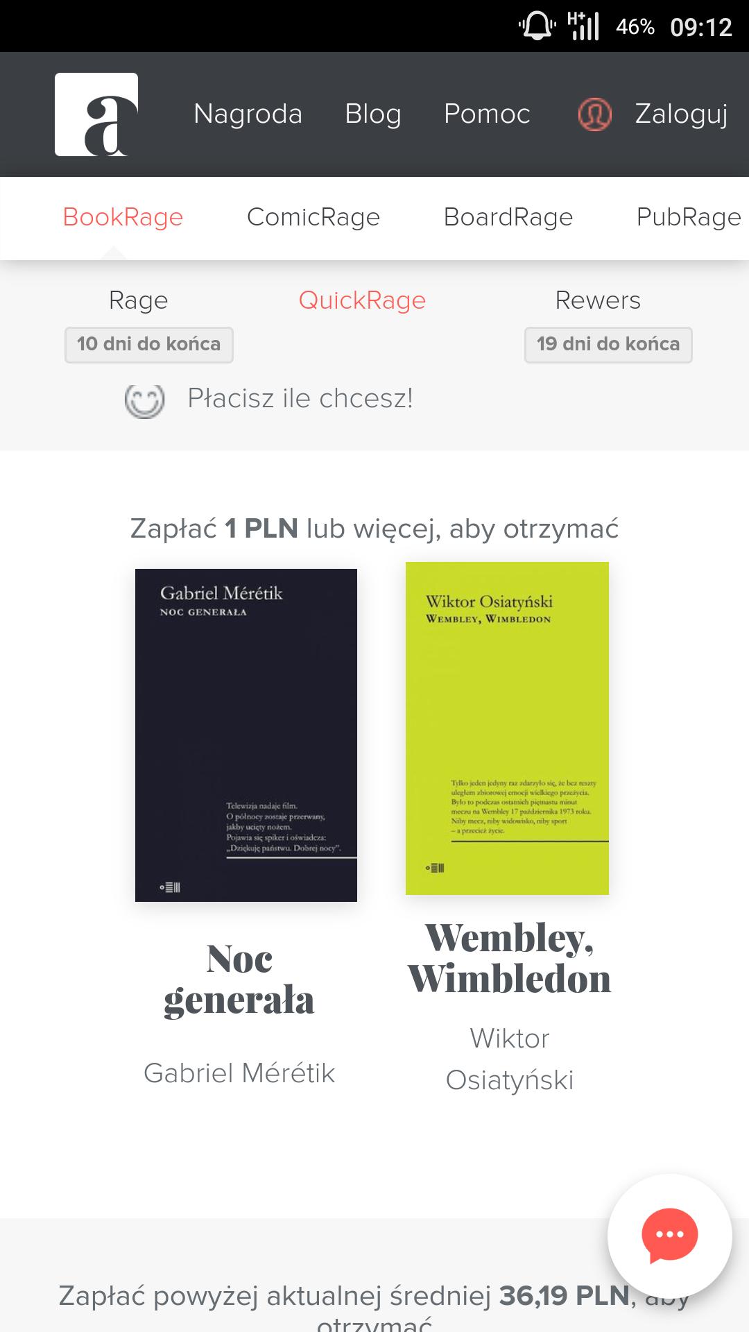 Kolejny pakiet ebook'ów od BookRage - Faktyczny Dom Kultury.