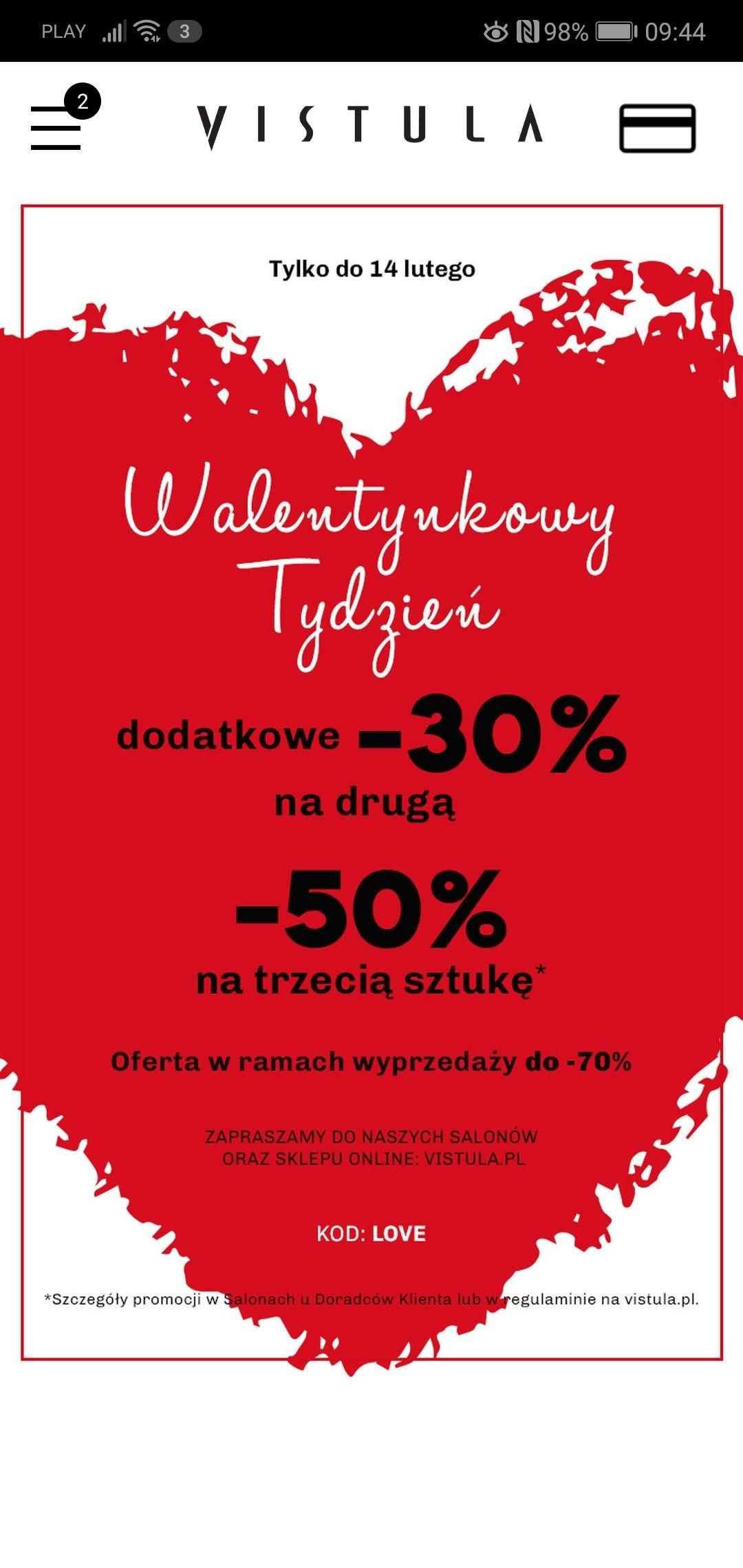 Vistula 30% 50%