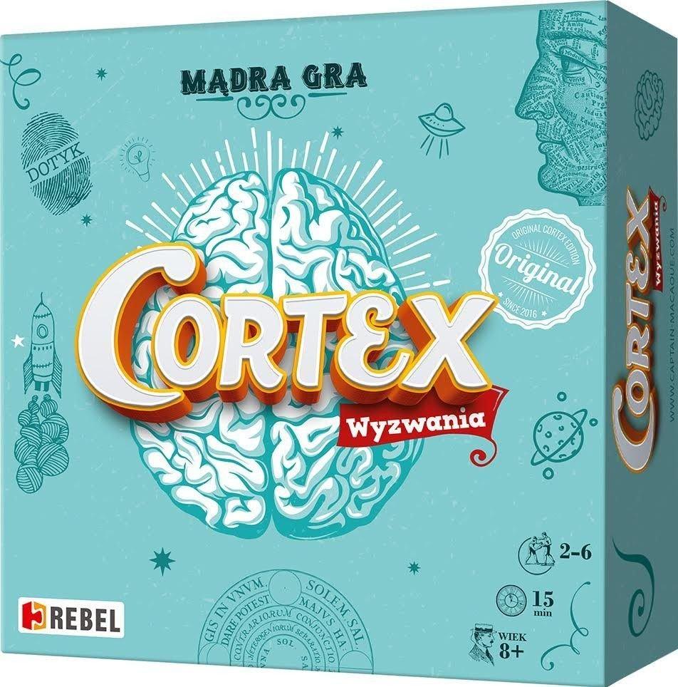 Cortex - wyzwania, gra planszowa