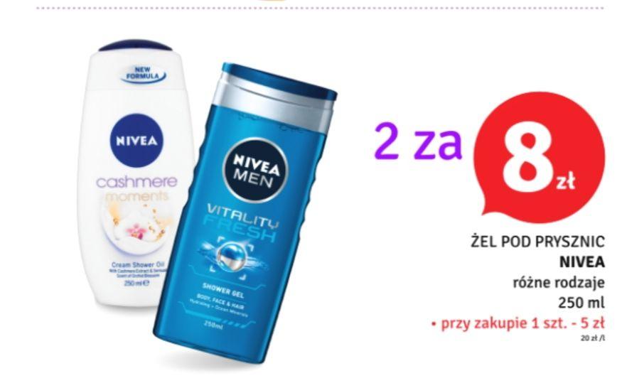 Żel pod prysznic Nivea 2 za 8zł - Dealz