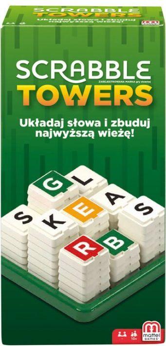 Mattel Scrabble Towers ponownie w dobrej cenie (24,99 z odbiorem osobistym, albo wysyłka od 9,99zł)