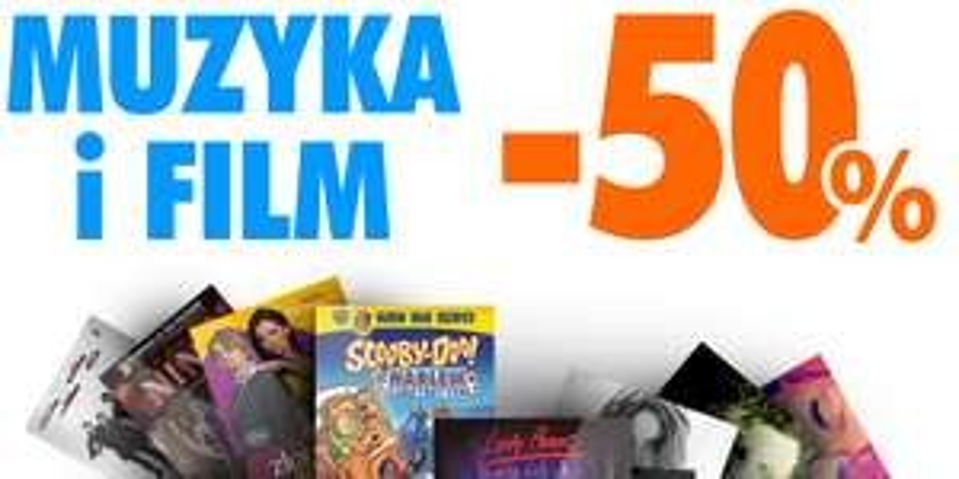 MUZYKA I FILMY -50% NA ELECTRO.PL