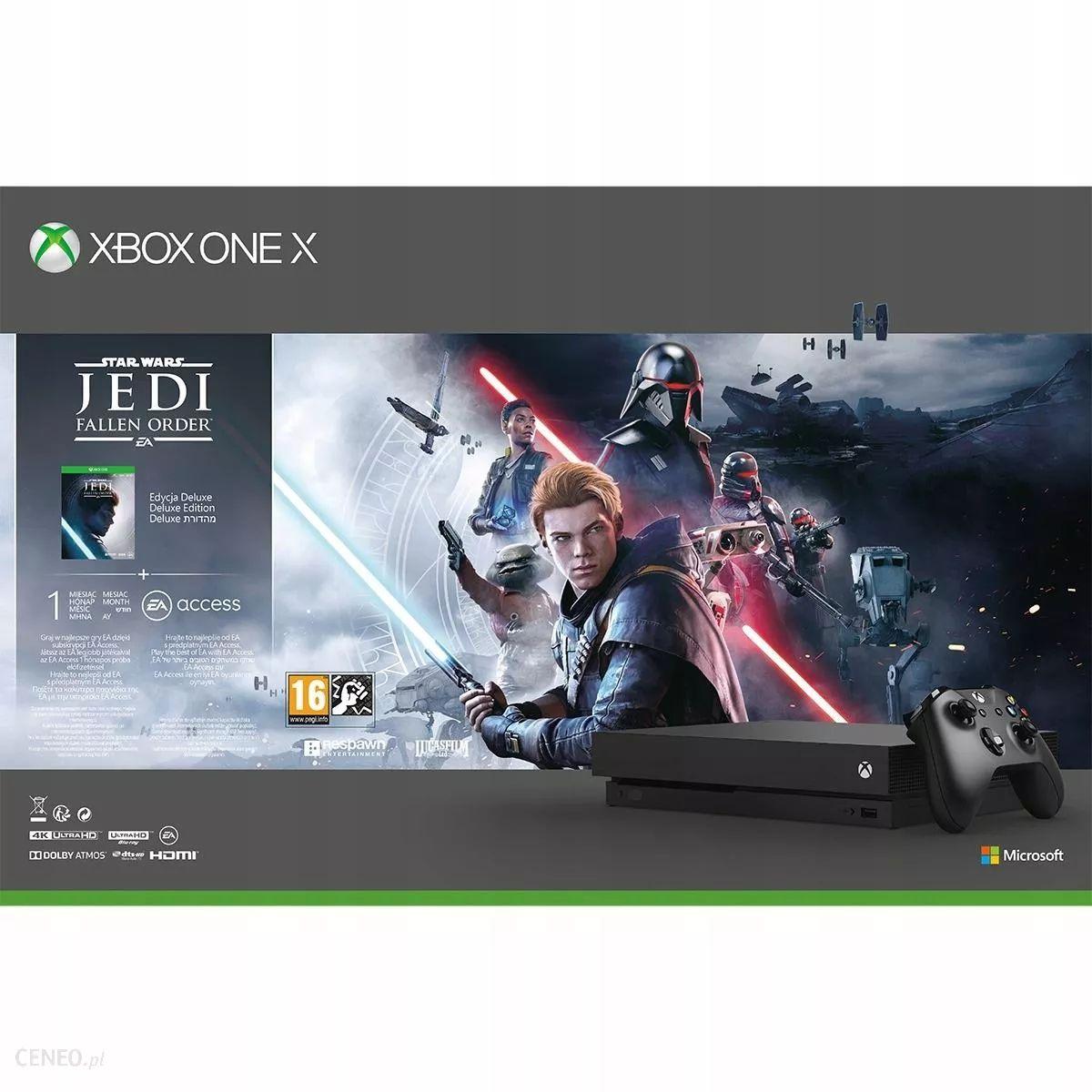 Konsola Xbox One X 1 TB Jedi: Fallen Order/Gears 5 Amazon.de