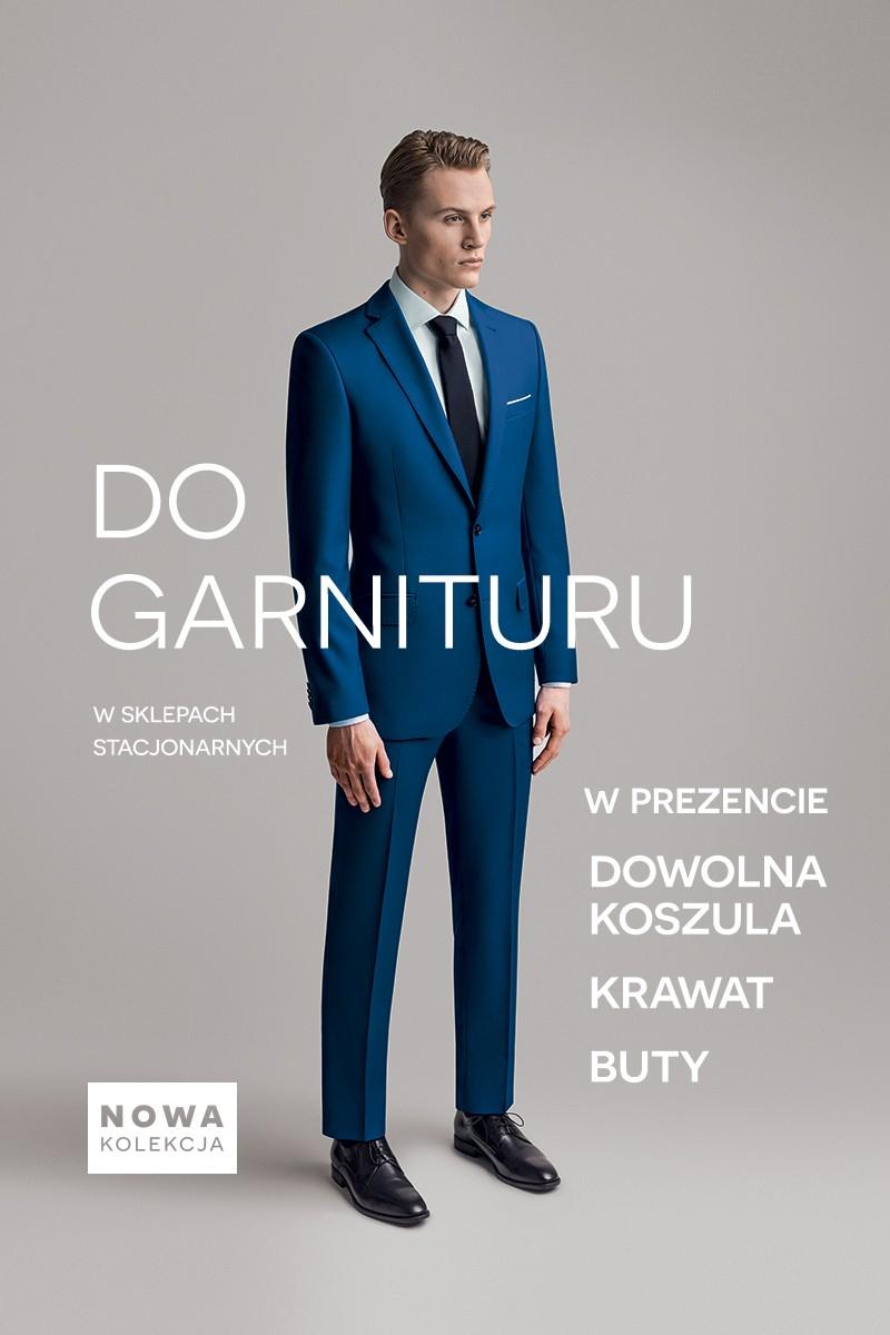 Przy zakupie garnituru, koszula, krawat i buty GRATIS @ Bytom
