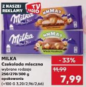 Milka czekolada mleczna MAX (250g,270g,300g) @Kaufland