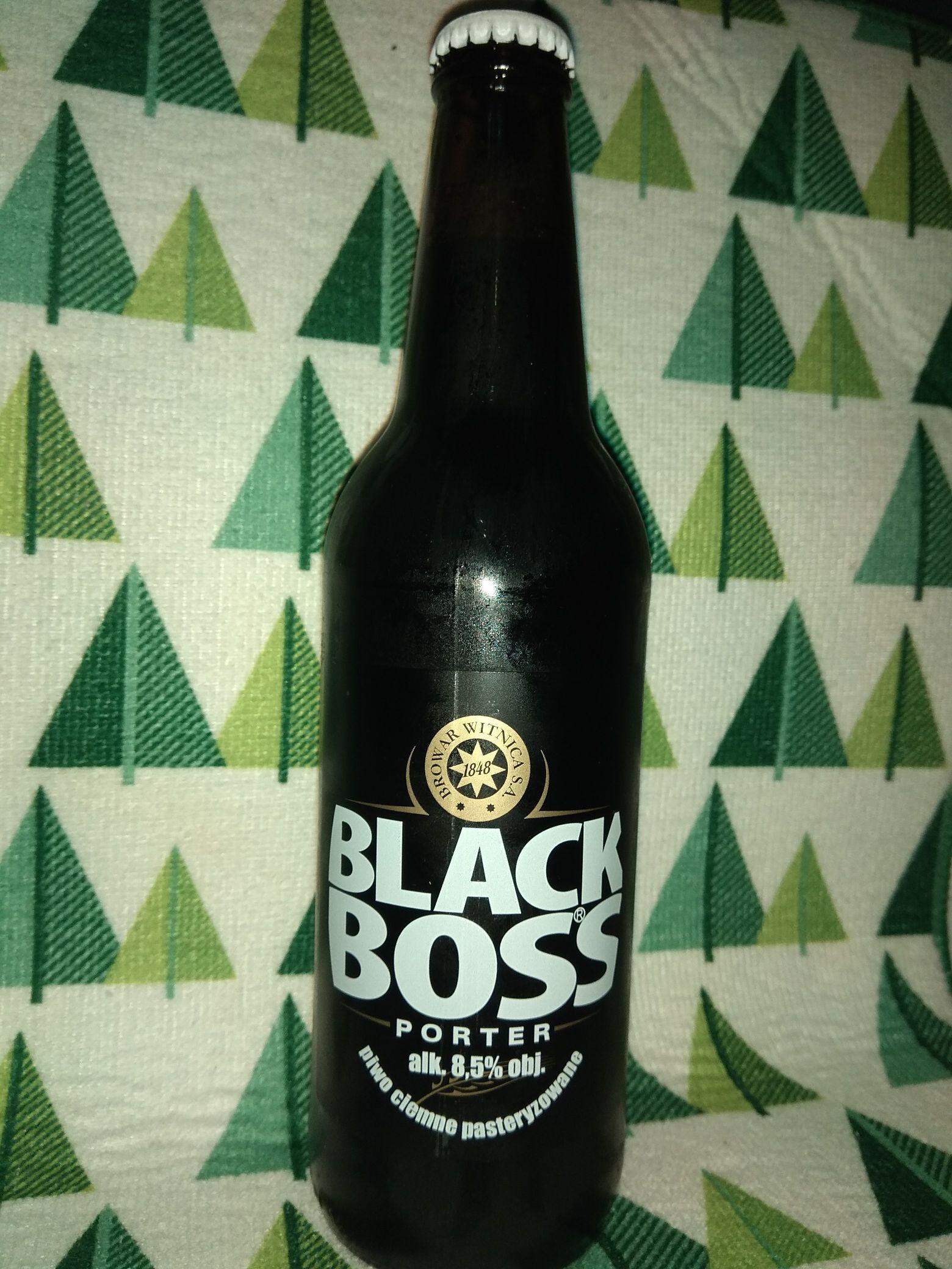 Piwo Black Boss Porter w Mila