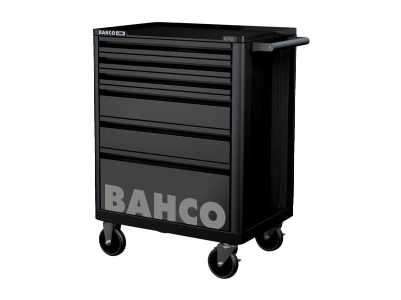 Bahco 1472K6BKFF7SD wózek narzędziowy 214 elementów