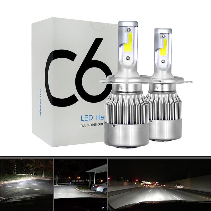 2 Żarówki LED h7/h4/h11