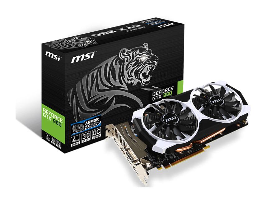 MSI GeForce GTX960 4096MB 128bit OC za 799zł @ X-kom