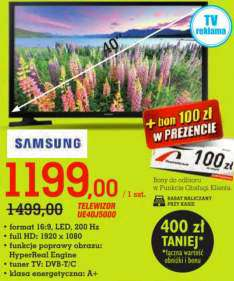 "TV Samsung 40"" @Intermarche"