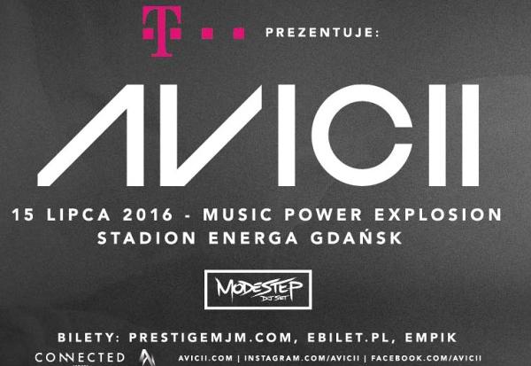 Bilety na koncert DJ Avicii taniej 50% z T-Mobile