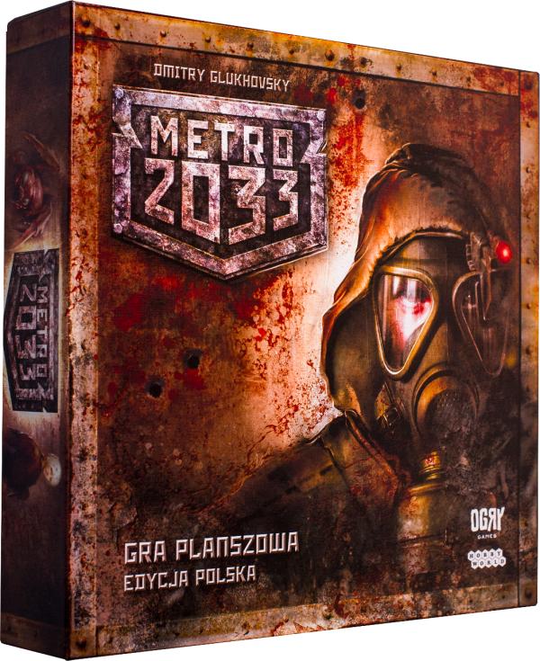 Gra planszowa metro 2033 w niesamowitej cenie