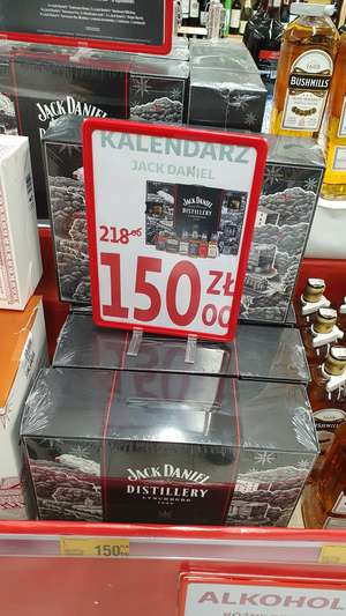 Kalendarz adwentowy Jack Daniel's - Auchan Częstochowa Północ