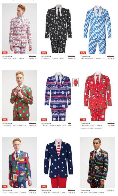 Wybrane garnitury OppoSuits 50% taniej @ Zalando