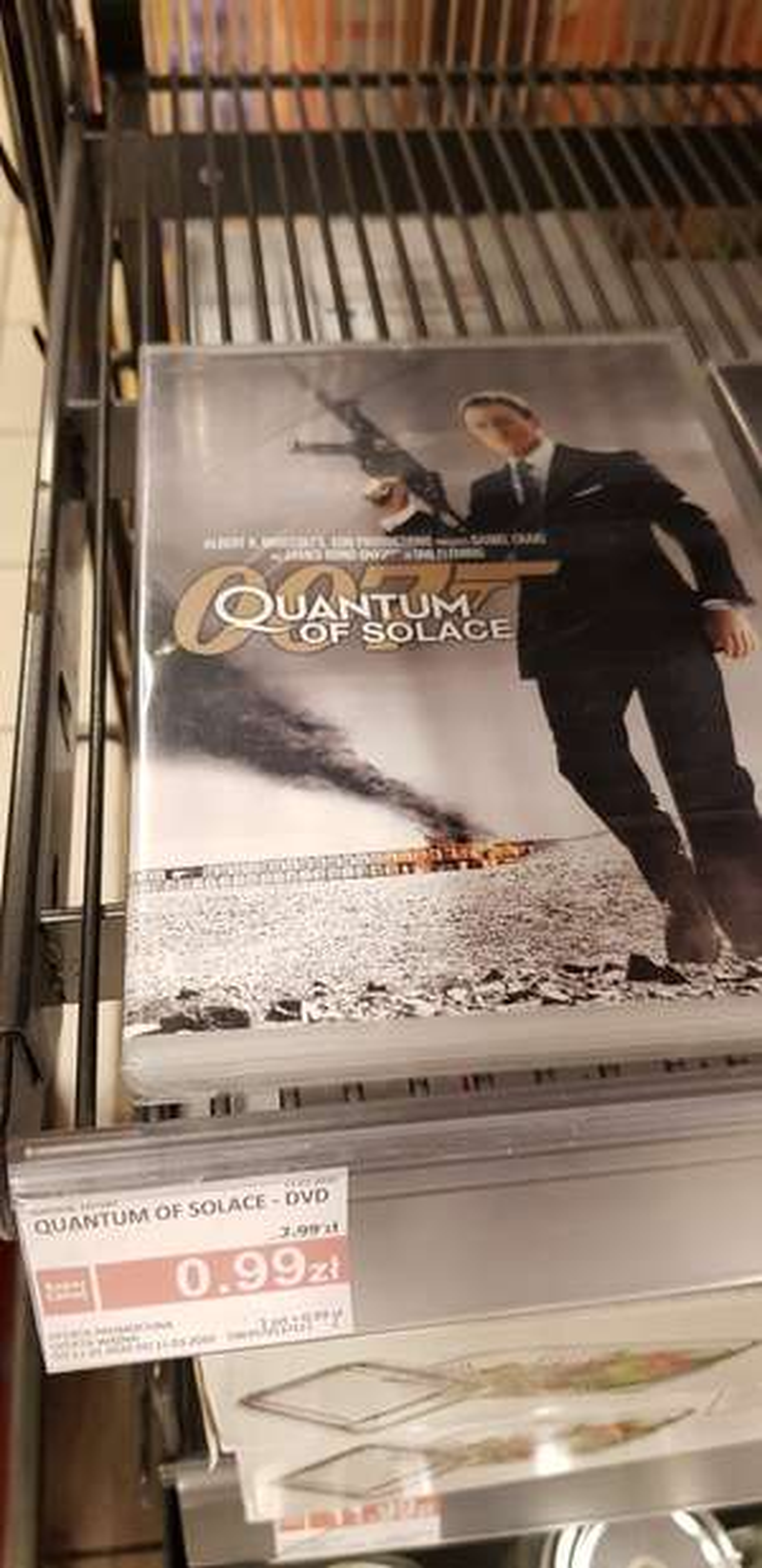 Płyta DVD 007 Quantum of Solace