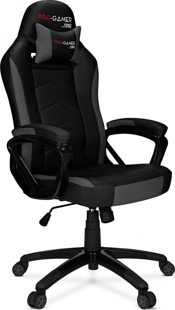 Fotel dla graczy PRO-GAMER Atilla Carbon 2.0 czarno-szary @ Morele