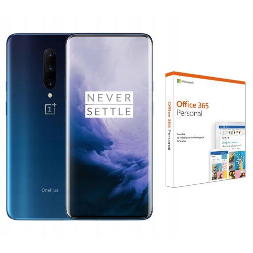 OnePlus 7 Pro 8/256GB LTE DualSIM NFC Nebula Blue + Microsoft Office 365 Personal 12 m. na allegro