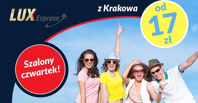 Lux Express: bilety do Pragi, Wiednia, Bratysławy, Brna oraz Budapesztu od 17 PLN