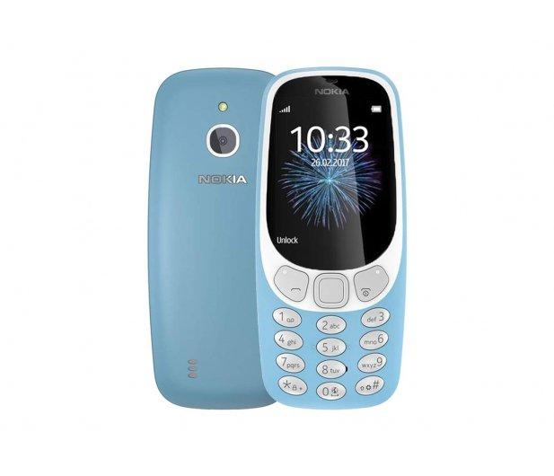 Telefon komórkowy NOKIA 3310 Dual SIM w kolorze niebiańskim