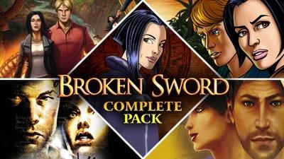 Broken Sword Complete Pack za ok. 33zł @ Bundle Stars