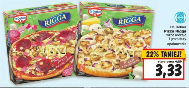 pizza RIGGA @kaufland