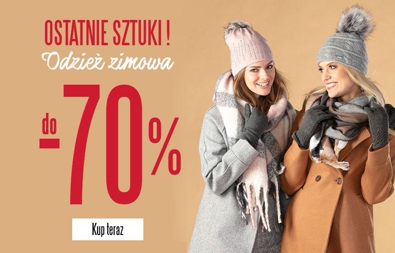 -70% na ostatnie sztuki z kolekcji zimowej na TXM