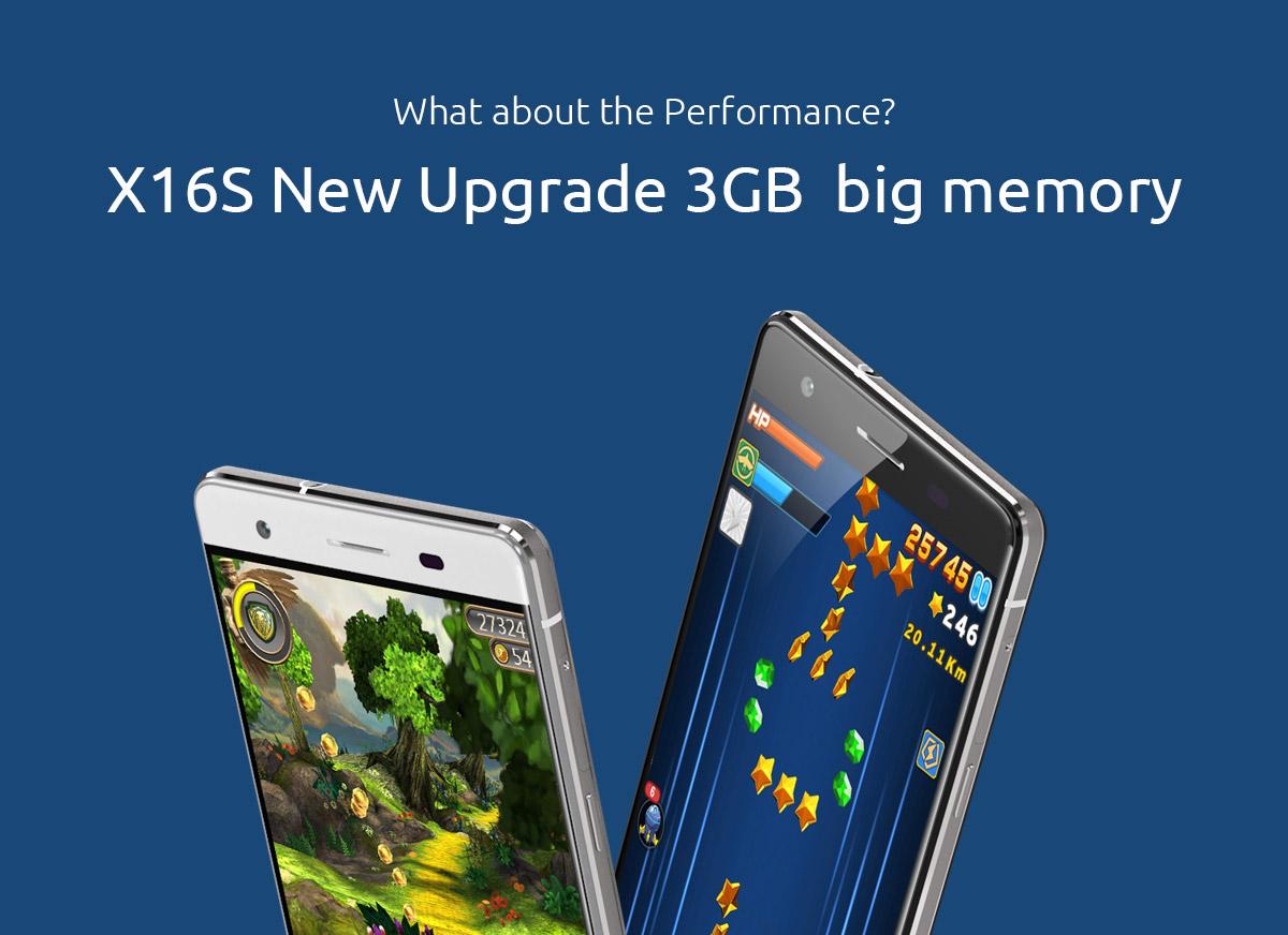 Przedsprzedaż Cubot X16S (4G LTE MT6735A 1.3GHz Quad-Core 3GB RAM 16GB ROM)