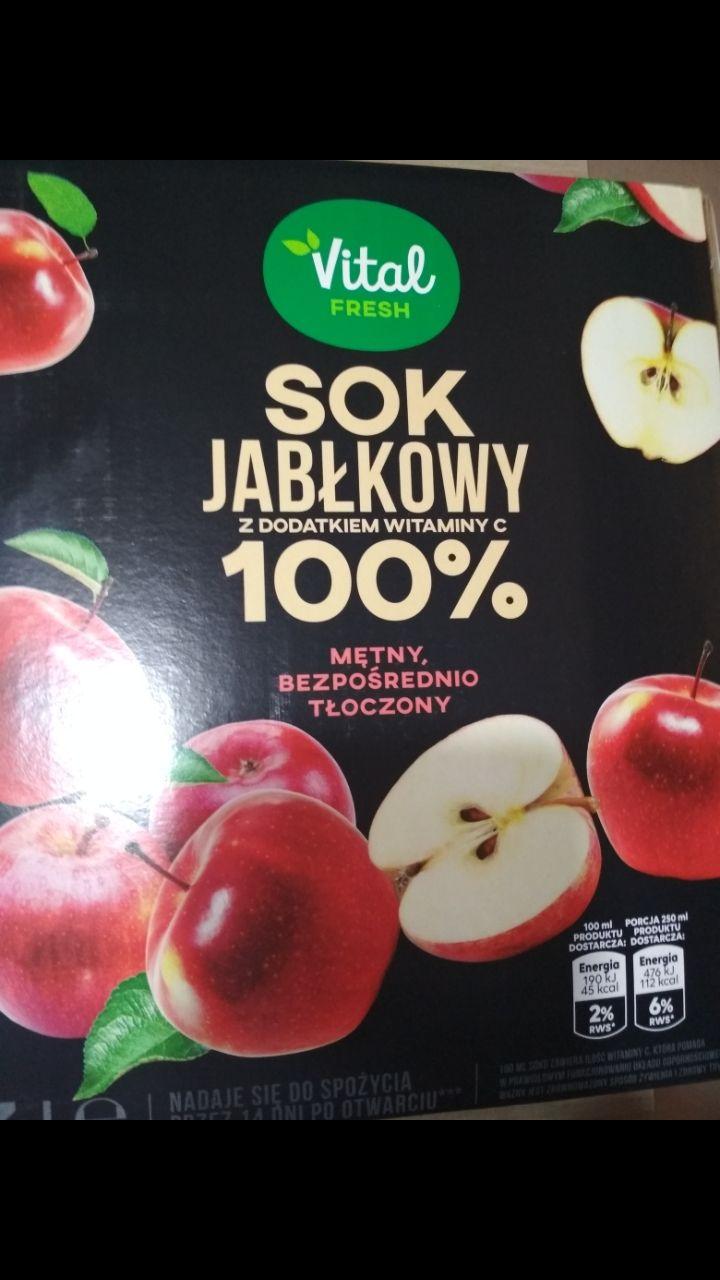 Sok jabłkowy NFC 3L Biedronka