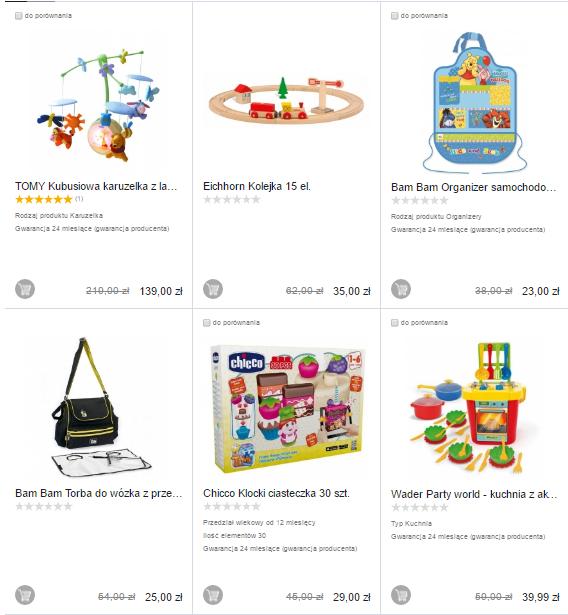 Kilka tanich produktów ponad 50% taniej @ Satysfakcja